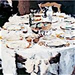 Philippe Cognée: Table, 2003, 114 x 146 cm