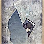 Rina Charlott Lindgren: Blue skies,(Samarbeid med Thomas Falstad), 2015, 74 x 59 cm