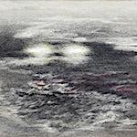 Rina Charlott Lindgren: Elusive form IV, 2017, 12.5 x 19.5 cm