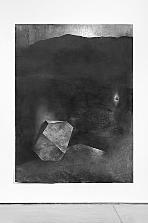 Rina Charlott Lindgren, Visitor II, 2017, 202 x 151 cm