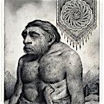 Sverre Malling: Neandertahl/Mandala, 2013, 63 x 55 cm
