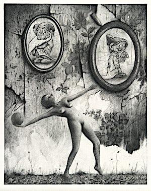 Sverre Malling, Riefensthal/Dwarfs, 2013, 63 x 55 cm