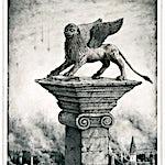 Sverre Malling: Lion of Saint Mark, 2013, 63 x 55 cm