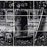 Sverre Malling: Schoolbus, 2009, 160 x 337 cm