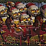 Terje Ythjall: Om det å flytte., 2008, 80 x 100 cm
