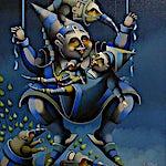 Terje Ythjall: Uten tittel, 2001, 54 x 47 cm