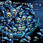 Terje Ythjall: Forventninger om ankomst, 2002, 60 x 80 cm