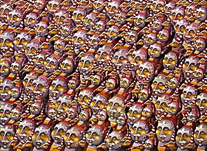 Terje Ythjall: Samlet for å overvære..., 2006, 110 x 150 cm