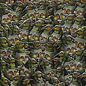 Terje Ythjall: Forsamling for felles interesser:, 2005, 100 x 82 cm