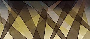 Thomas Sæverud, Shadowplay, 2010, 90 x 200 cm