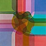 Thomas Sæverud: In colour 1, 2016, 150 x 150 cm