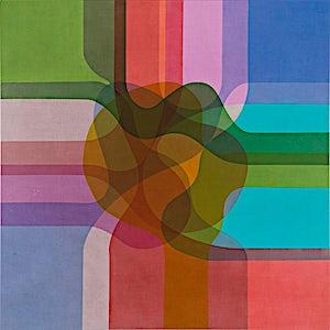 Thomas Sæverud, In colour 1, 2016, 150 x 150 cm