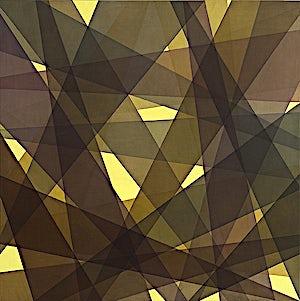 Thomas Sæverud, Clair-obscur, 2005, 120 x 120 cm