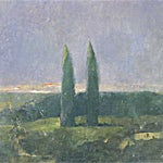 Thor Furulund: Utsikt Toscana (detalj), 2000, 200 x 200 cm