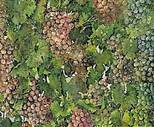 Thor Furulund, Valpolicella (detalj), 2000, 200 x 200 cm