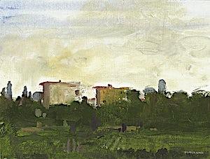 Thor Furulund: Catalonia XII, 2005, 19 x 25 cm