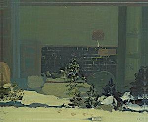 Tone Indrebø, Hendelse, 2010, 50 x 61 cm