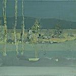 Tone Indrebø: Forbi, 2009, 51 x 60 cm