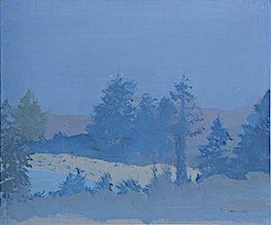 Tone Indrebø, Erindring, 2009, 51 x 60 cm