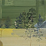 Tone Indrebø: Oppstilling 3, 2009, 30 x 40 cm