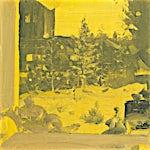 Tone Indrebø: Gul aften, 2012, 50 x 50 cm