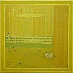 Tone Indrebø: Prolog, 2001, 60 x 60 cm