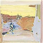 Tone Indrebø: Ved elven, 2014, 50 x 50 cm