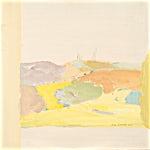 Tone Indrebø: Pause I, 2016, 50 x 50 cm