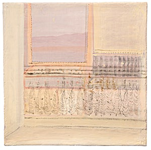 Tone Indrebø: INNE / ute 11, 2018, 60 x 60 cm