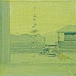 Tone Indrebø: Forrige gang, 2002, 60 x 60 cm