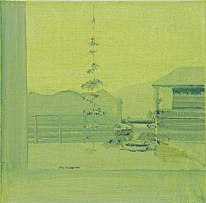 Tone Indrebø, Forrige gang, 2002, 60 x 60 cm