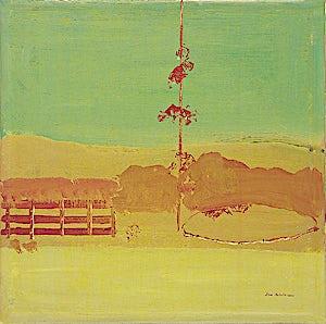 Tone Indrebø, Etterpå, 2001, 60 x 60 cm