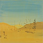 Tone Indrebø: Mai, 2004, 70 x 70 cm