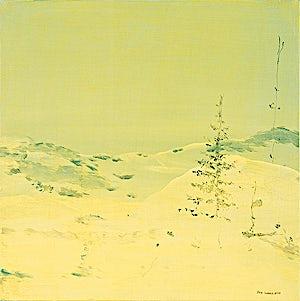 Tone Indrebø, Januar, 2004, 70 x 70 cm