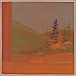 Tone Indrebø: Tidlig kveld, 2004, 70 x 70 cm