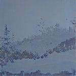 Tone Indrebø: Øyeblikk 10, 2006, 70 x 70 cm
