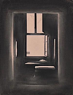 Ulf Nilsen, The Open Window II, 2014, 65 x 50 cm