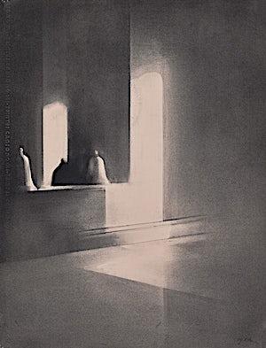 Ulf Nilsen, Studio reflections, 2014, 65 x 50 cm