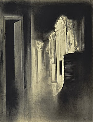 Ulf Nilsen, Night light, 2014, 65 x 50 cm