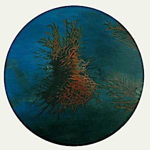 Vibeke Bärbel Slyngstad: Les couleurs de Cousteau, 2000, 85 x 85 cm