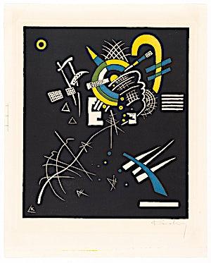 Wassily Kandinsky (1886-1944): Kleine Welten – Blatt VII, 1922, 37,5 x 28,3 cm