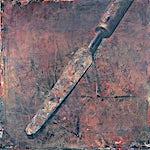 Yuri Kuper: Couteau de palette, 1990, 200 x 200 cm